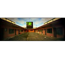 Motel pinhole Photographic Print