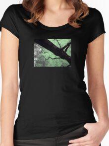 // a la folie // Women's Fitted Scoop T-Shirt