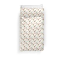 Chic peach floral Duvet Cover