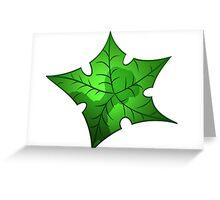 Tree Star Greeting Card