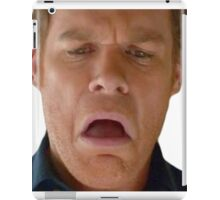 dex omg face iPad Case/Skin
