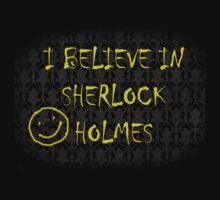 I Believe in Sherlock Holmes by alirsonnn