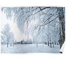 Walking in a Winter Wonderland Poster