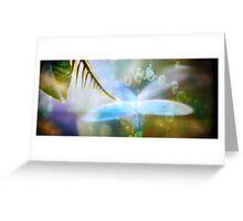 Borrowed Wings Greeting Card