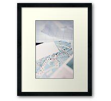 Graph Framed Print