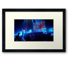 Die Antwoord Concert  Framed Print