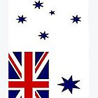 Australian White Ensign #4 by Peter Doré