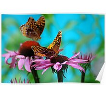 BFF Best Friend Fritillaries  Poster