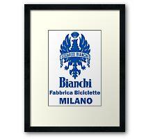BIANCHI Framed Print