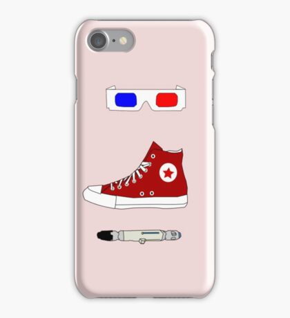 Tenth Doctor Minimalist Piece iPhone Case/Skin