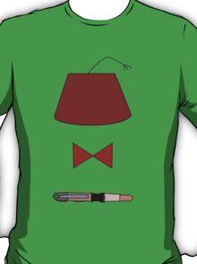 11th Doctor Minimalist Piece T-Shirt
