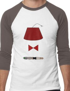 11th Doctor Minimalist Piece Men's Baseball ¾ T-Shirt