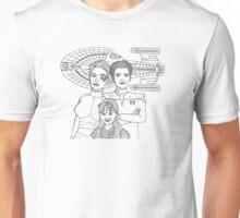 Seven of Nine, Captain Janeway and Naomi Wildman Unisex T-Shirt