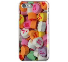 Candy Hearts iPhone Case/Skin