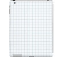 Graph Paper iPad Case/Skin