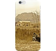 """Humanitarian Mission - Kandahar, Afghanistan"" iPhone Case/Skin"