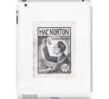 Mac Norton iPad Case/Skin
