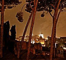 """""""La Notte di Roma - Rome Italy"""" by Omar  Mejia"""