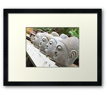 Four Heads are Better then One. Framed Print