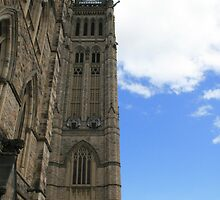 Peace Tower - side on. by Kitangel
