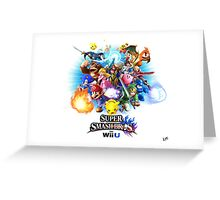 Super Smash Bros. for Wii U [Full Art] Greeting Card