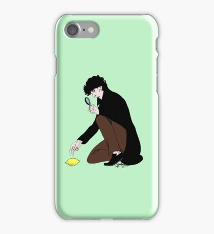 Guess Who Found the Lemon?! iPhone Case/Skin