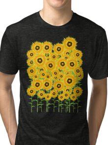 Sunflower Garden Tri-blend T-Shirt