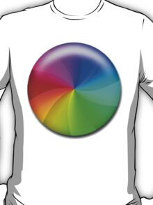 Rainbow Wheel T-Shirt