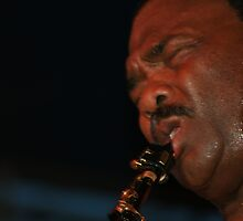 In The Zone - Ronnie Laws by Charles Ezra Ferrell - PhotoARTgraphy