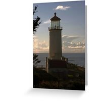 Looking into the Sunset Greeting Card