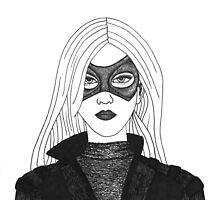 Laurel Lance as the Black Canary by klingonfeminist