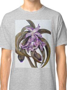 Wild Blue: Amaryllis, by Alma Lee Classic T-Shirt