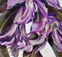 Wild Blue: Amaryllis, by Alma Lee Sticker