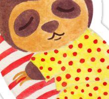 Sleeping Like a Sloth Sticker