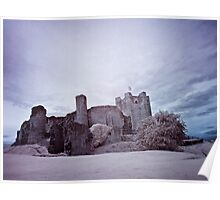 infrared castle Poster