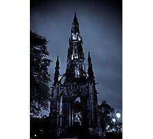 Gothic Rocketship Photographic Print