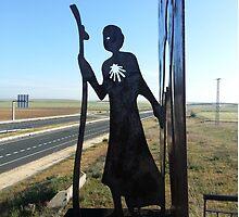Camino de Santiago - The Meseta Pilgrim by rushbyfamily