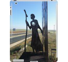 Camino de Santiago - The Meseta Pilgrim iPad Case/Skin
