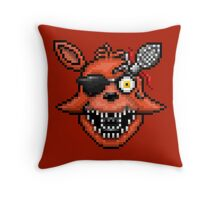 Five Nights at Freddy's 2 - Pixel art - Foxy Throw Pillow