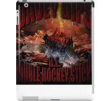 H.E. DOUBLE HOCKEY STICKS iPad Case/Skin