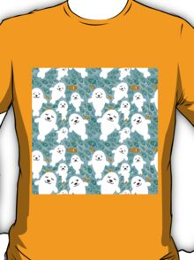 cute seal and fish in water T-Shirt