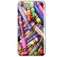 Crayola Crayons iPhone Case/Skin