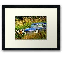 Abandoned Blue #3 Framed Print