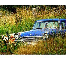 Abandoned Blue #3 Photographic Print