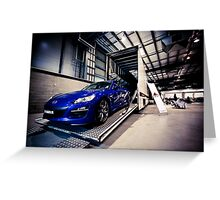 Mazda RX-8 Greeting Card
