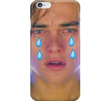 Leo Cryin' Emoji Tears iPhone Case/Skin