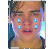 Leo Cryin' Emoji Tears iPad Case/Skin