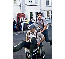 Pram Race 1 Photographic Print