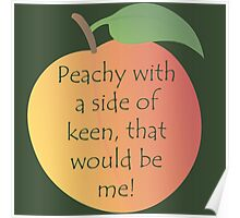Peachy Keen! Poster