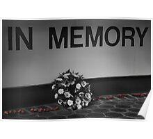 In Memory Poster